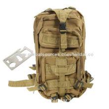 Military Backpack of Waterproof Material, OEM Orders Welcomed