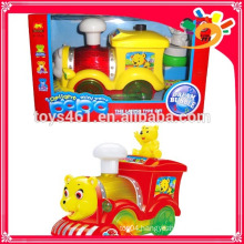 bubble train car toy Battery powered toy car