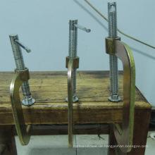 """2 """"-12"""" Stahl Holzklemme für den Export"""