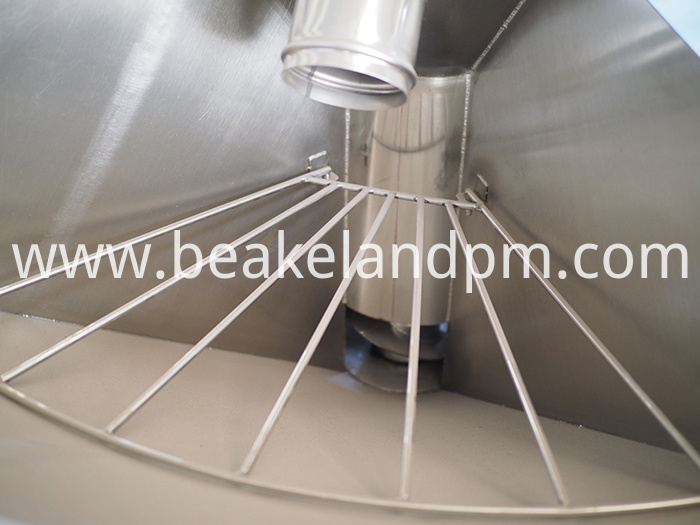 Lifting mixing dryer