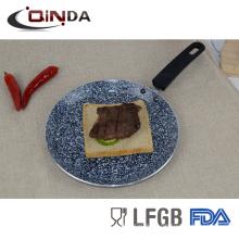 Bandeja de panqueques de tawa pan utensilios de cocina de recubrimiento de granito para cocinar
