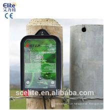 CE elétrico RoHS da unidade do esgrimista do Energizer 0.6J da bateria da cerca 10Km