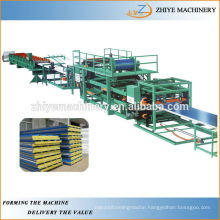 EPS&Rockwool Sandwich Panel Sheet Metal Cold Rolling Machine