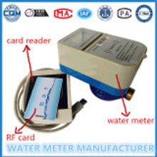 Prepaid WaterMeter for RF Card Household WaterMeter