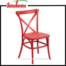 Silla plástica cruzada de los PP, silla que cena plástica, todos los colores (KD)