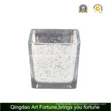 Mercury Glass Cube Votive Candle Holder Manufacturer