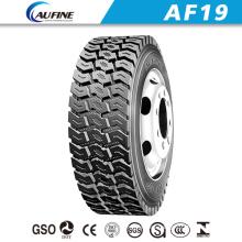 AF 19 resistente Radial camión neumático, Neumático TBR, autobús sin tubo neumático (12.00R24)