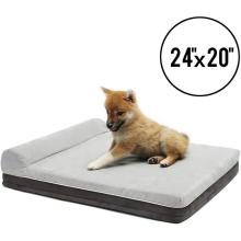 Comfity Durable Memory Foam Dog Bed