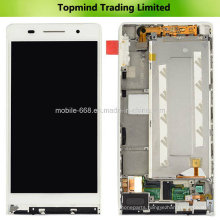 for Huawei Ascend P6 LCD Display with Touch Screen with Front Housing