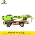 Mini Truck Crane with Tire 8 Ton