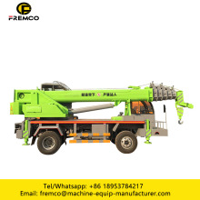 Mini Truck Crane with Tire 8 Ton