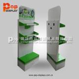 Creative Design LED Lamp Cardboard Floor Display Stand (BP-TWF005)