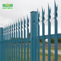 High quality 2.4mx1.8m steel Palisade fencing