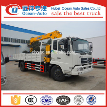 Dongfeng kingrun telescopic boom truck crane for sale