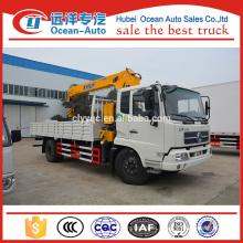 Dongfeng kingrun telescopic boom truck crane for sale