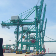STS type container handling gantry crane of ship
