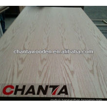 2.0mm red oak veneer fancy MDF AA grade for Pakistan
