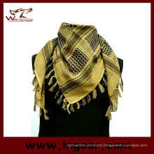 Fashion Men Military Camouflage Fish Net Mesh Army Polyester Scarf