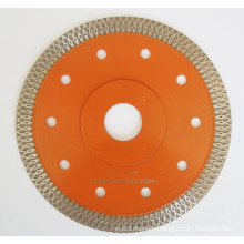 Turbo Dry Cutter porcelain ceramic granite quartz nanoglass tile Super thin Diamond Saw Blade  Mesh X Fish