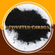 Carvão activado em pó à base de purificação de óleo