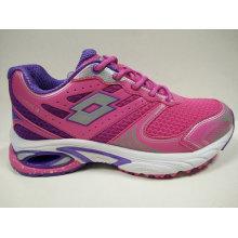 Zapatos de los deportes del rosa de las señoras