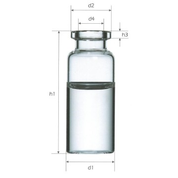 20ml Pharmaceutical Glass Tubular Injection Vials