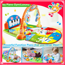 New funny education musical baby play gym mat baby mat