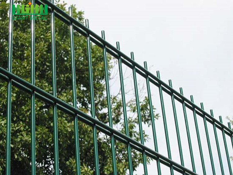 PVC Coated Double Horizontal Wire Mesh