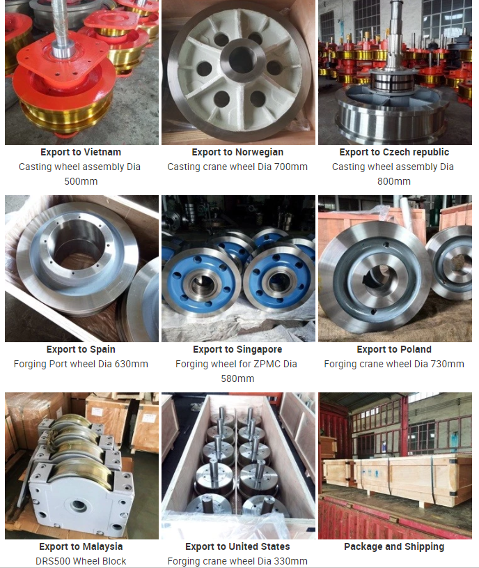 Crane Wheels for EOT Crane