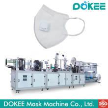 Máscara dobrável de alta velocidade que faz a máquina
