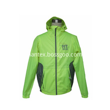 Outdoor reflective waterproof breathable windbreaker jacket