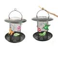 Funktions-Garten-hängende Dekoration-Metall Birdfeeder