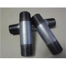 Galvanizado BSPT Standard SCH40 Barrel Male Thread Nipple