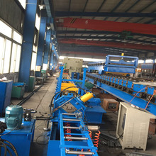 Aluminum storage rack roll forming machine
