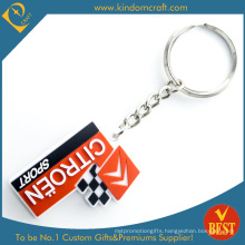 China High Quality Customized Eco-Friendly Rubber Key Chain at Factory Price