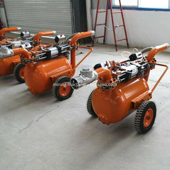Dredging sand and mud pump pneumatic equipment (6)