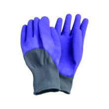 13G Polyster Liner Latex Coated Open Back Glove