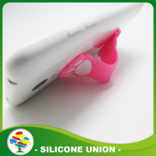 Silicone slap phone holder touch u phone stand