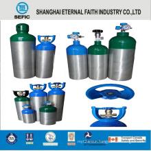 Portable Medical Aluminum Alloy Oxygen Gas Cylinder