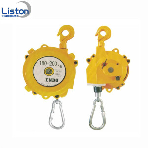Spring Balancer 1-3kg Wire rope Lifting Equipment