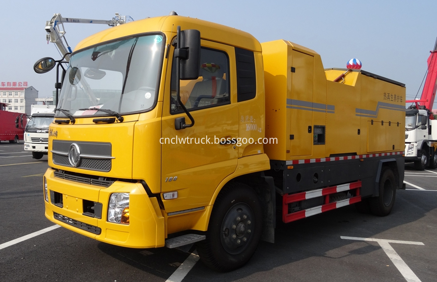 Asphalt Road Maintenance Vehicle