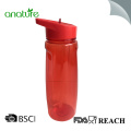 750ML Plastic Tritan Water Bottle With Straw Lid