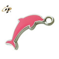 factory custom metal made wine charm design 2014