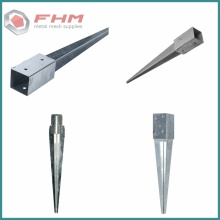 Galvanized Ground Spike Post Spike Screw Anchor