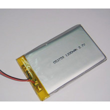 Chine Fabricant Li-Polymer Battery 3.7V 1200mAh 503759 Rechargeable