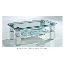 Современный стеклянный стол и журнальный столик для магазина (MX0802)