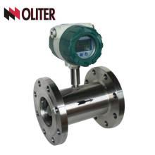 medidor de fluxo de água de pico de turbina líquida de óleo com saída 4-20ma