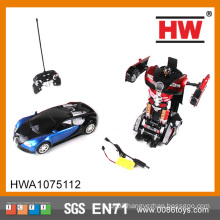 1:14 six channel remote control deformation robot with light
