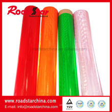 Crystal lattice reflective rolls for tape