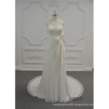 Latest Long Bridal Wedding Gowns 2017 Ivory Trumpet Wedding Dresses Import Wedding Dress From Guangzhou